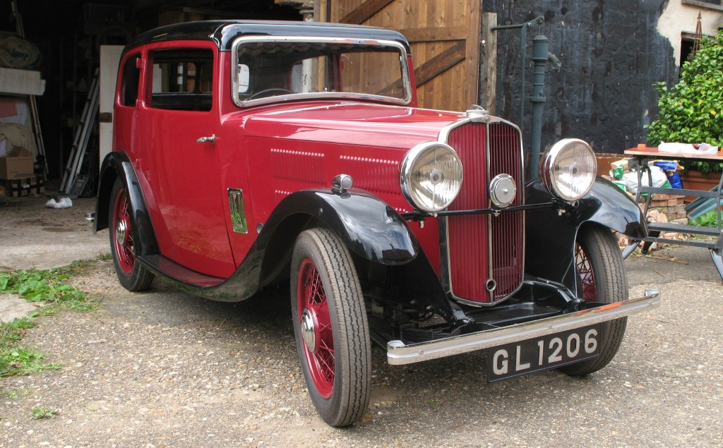 1934 Southern Cross Sports Saloon