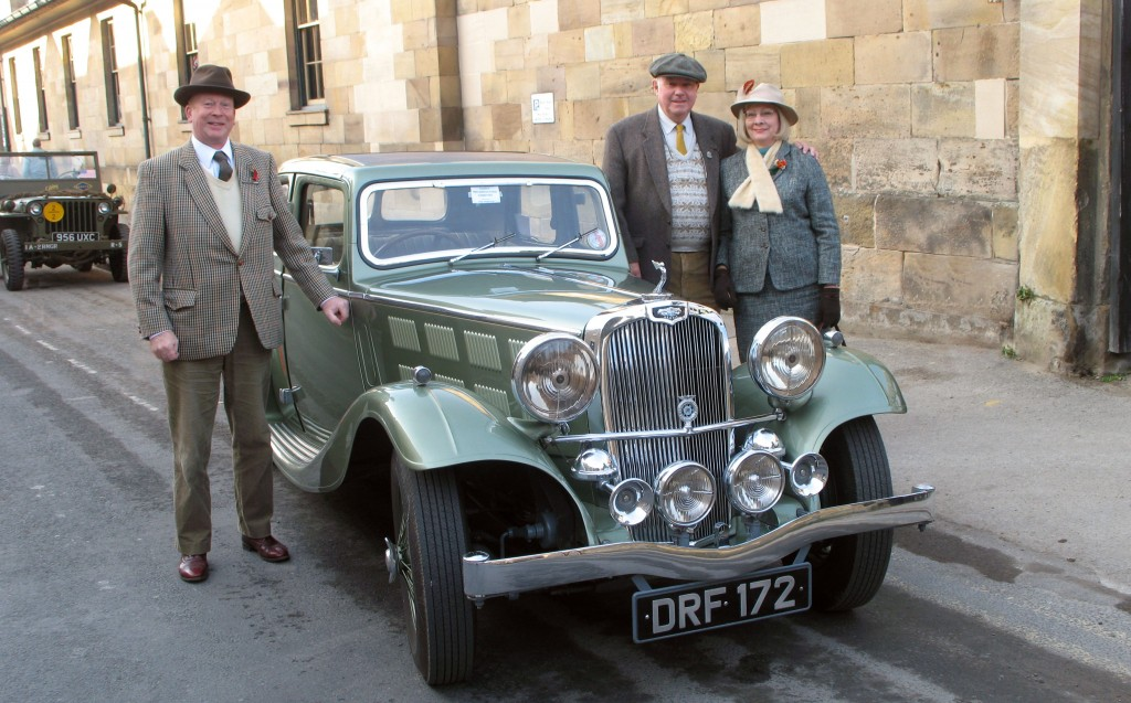Pickering Station - War Weekend 2009 Graham, Roger & Edna