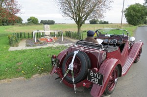 Chairman's Gloria Southern Cross at Spilsby's 2014 Road Run in Lincolnshire