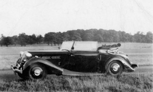 Dolomite 2-Litre Tickford Drophead Coupe.