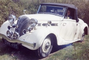 Dolomite 14/65 Roadster Coupe